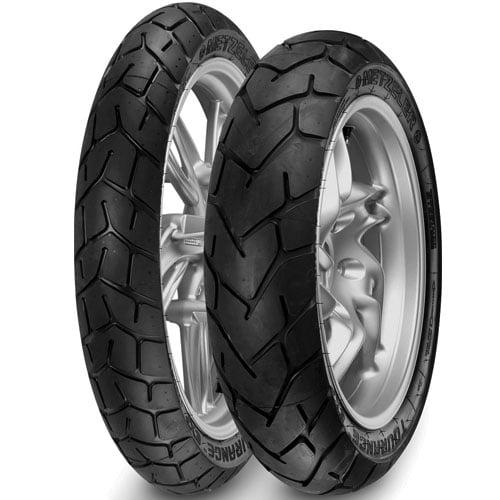 Qual é  calibragem correta para os pneus da minha moto?
