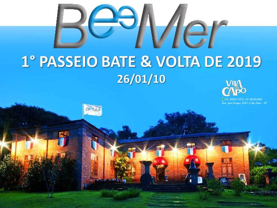 1° Bate&Volta 2019 – 26/01 – Vila Del Capo