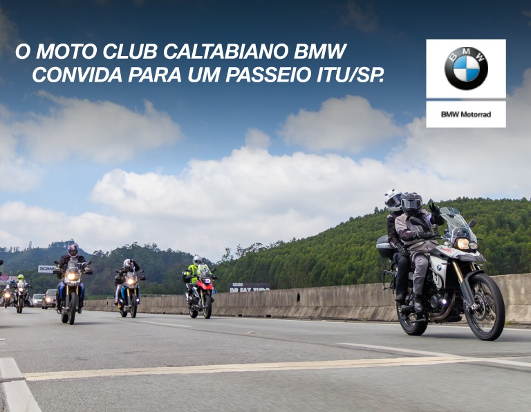 PASSEIO MOTO CLUB CALTABIANO BMW MOTORRAD l 30.03 SÁBADO