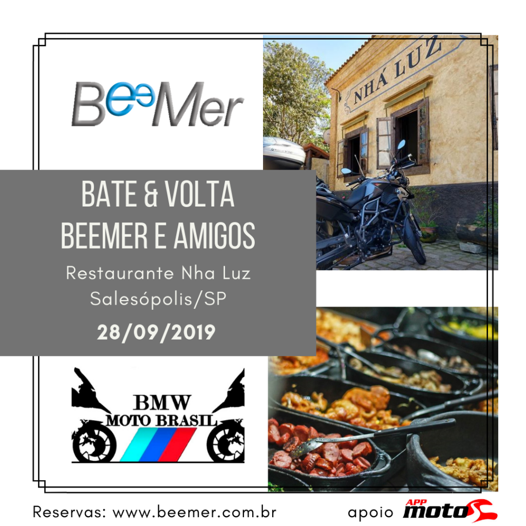 Bate&Volta BeeMer & BMW Moto Brasil