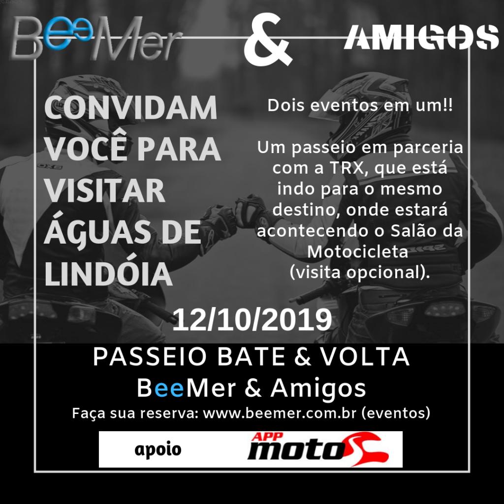 BeeMer e TRX convidam você para visitar Águas de Lindoia – 12/09/19