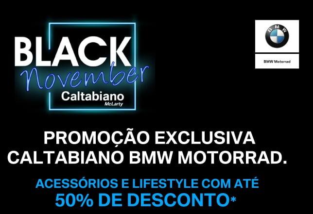 BLACK NOVEMBER Caltabiano: DESC. de até 50% (acessórios originais/boutique)