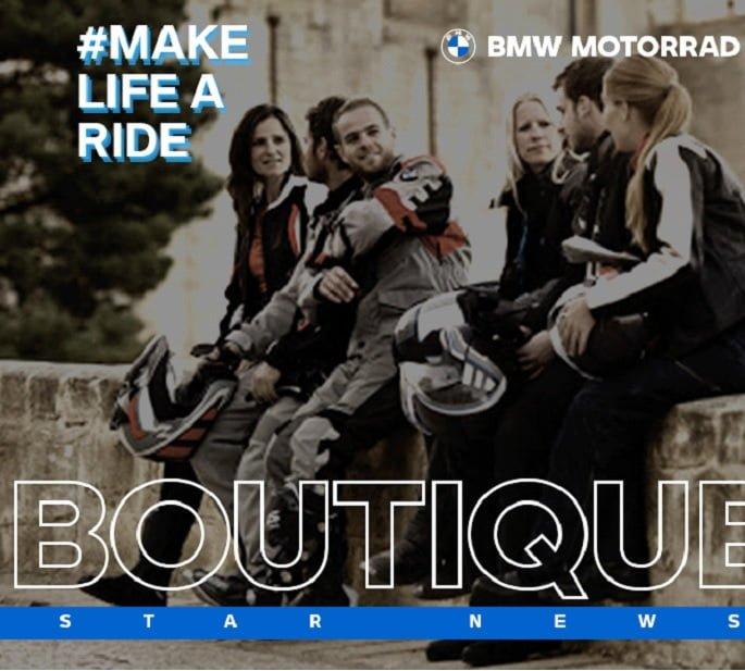 Promoção Boutique BMW na Star News