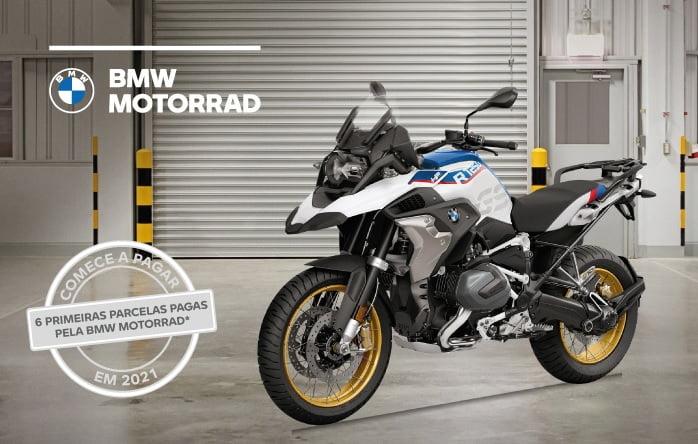 Compre sua BMW R 1250 GS na CALTABIANO e comece a PAGAR só em 2021