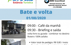 BROTAS – Bate&Volta – 01/08